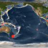 Todos los terremotos de los primeros 15 años de siglo en 4 minutos